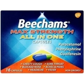 Beechams Max Strength All In One Capsules - 16