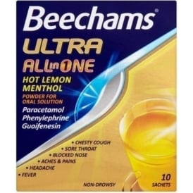 Beechams Ultra All In One Sachets - 10
