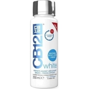 Cb12 Oral Rinse White 250ml