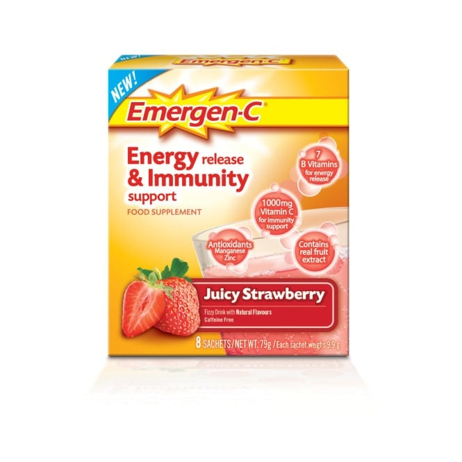 Emergen C Super Strawberry 8 Pack - Pharmacy & Health from ...