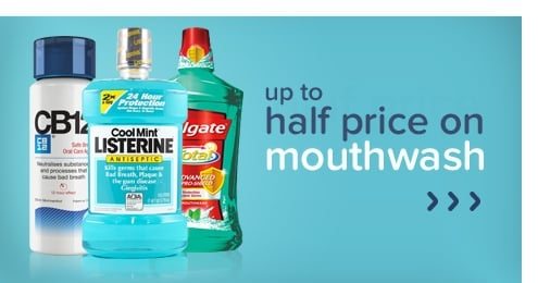 Half Price Mouthwash