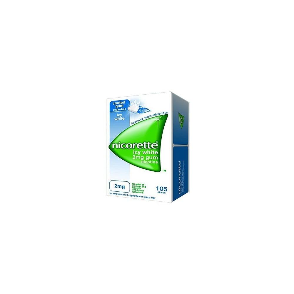 Nicorette Gum Freshmint 2Mg 105 Pieces