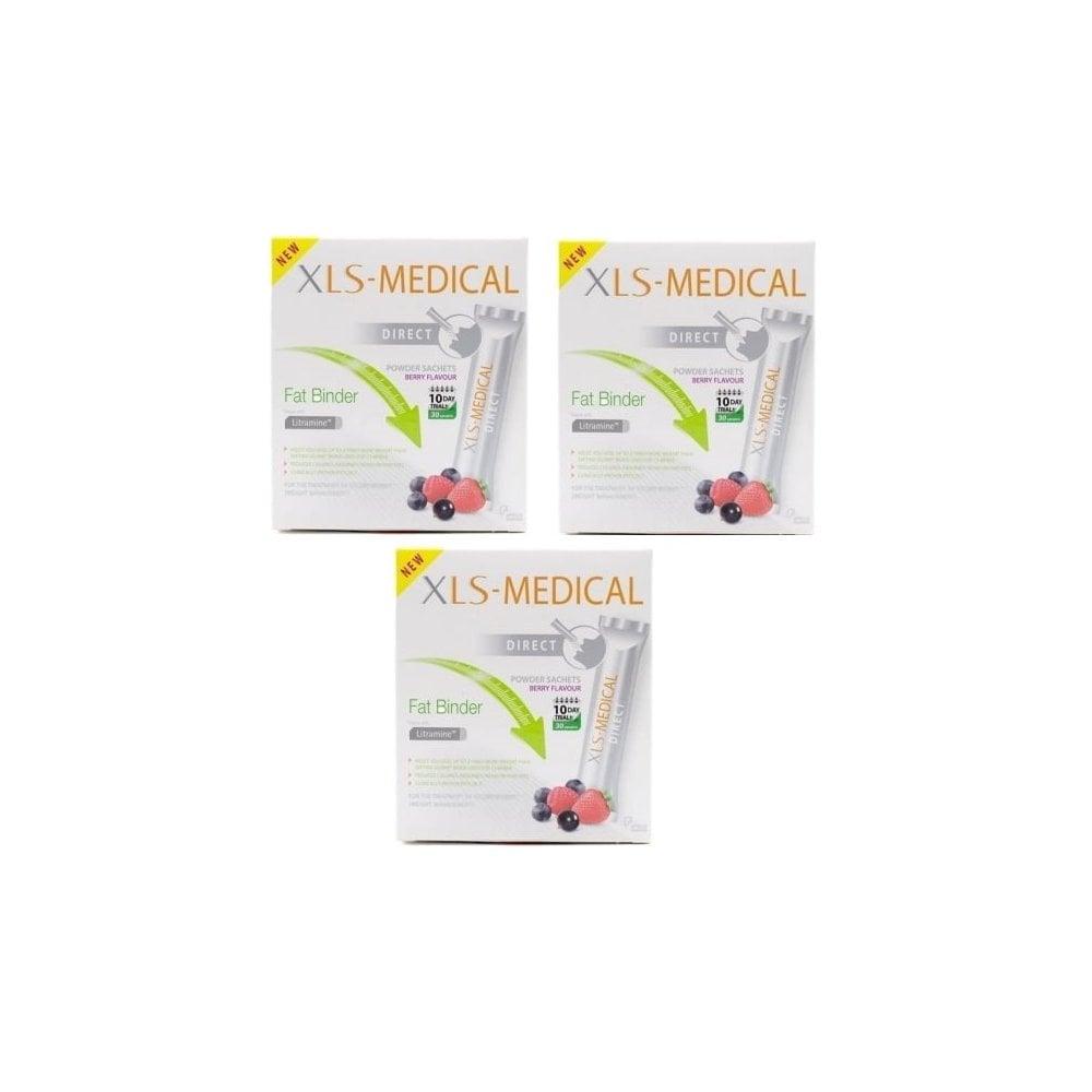 Xls Medical Direct Fat Binder 90 Sachets 3 X 30 Sachets